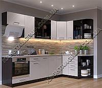 Кухня Арина Мрамор беж 2 ( Угловая)