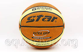 Мяч баскетбольный Star Ultra Grip № 6