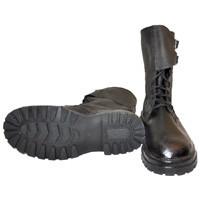 Ботинки ОМОН юфть/кирза клеепрошивные утепленные (зима)