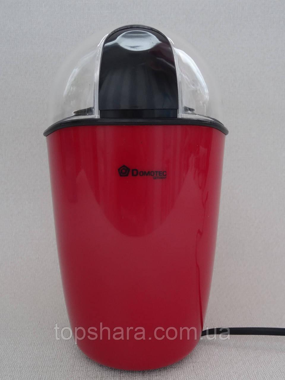 Кофемолка Domotec MS-1306 200W  красная 220V