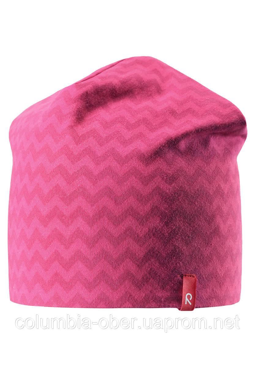 Демисезонная шапка для девочек Reima Hirvi 528539-3565. Размеры 50-56.