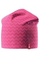 Демисезонная шапка для девочек Reima Hirvi 528539-3565. Размеры 50-56. , фото 1