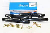 Ручка двери ВАЗ 2109, 2114, 2115 наружная ЕВРО черный металлик (комплект 4шт) (производство HERZOG)