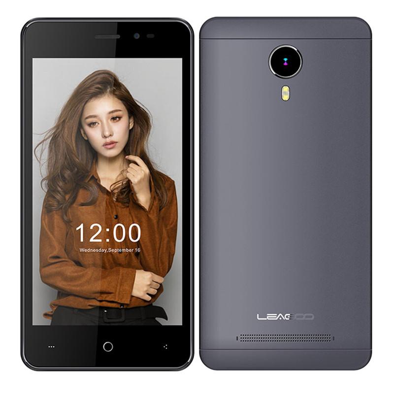 "Смартфон Leagoo Z5 LTE Grey 1/8Gb, 4 ядра, 5/2 Мп, 5"" IPS, 2 SIM, 4G, 2000 мАч"