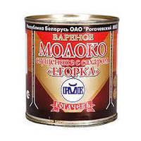 """Вареное сгущенное молоко """"Егорка""""Рогачевского МКК 8,5% 360 г. ж.б."""
