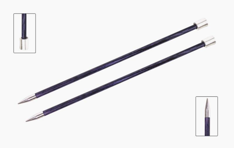 Спицы прямые 40 см Royale KnitPro, 6,50мм
