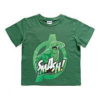 Детская футболка Avengers (Мстители) на мальчиков 4-8 лет (100% хлопок) ТМ ARDITEX AV11245 зеленый