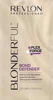 Средство для защиты волос после обесцвечивания в саше Revlon Professional Blonderful Bond Defender 20 ml