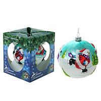 """Новогодняя игрушка на елку """" Снеговик """" купить подарок на новый год 2015"""