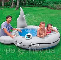 Детский бассейн Акула (Intex)