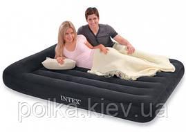 Надувной матрас-кровать Intex, 152см (высота 30 см)