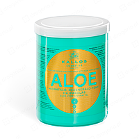 """Kallos ALOE Маска для увлажнения и восстановления сухих и поврежденных волос """"Алоэ"""""""
