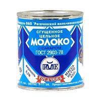 "Сгущёное молоко с сахаром ""Рогачёв"" 8,5% 380г ж/б ГОСТ  (Беларусь)"