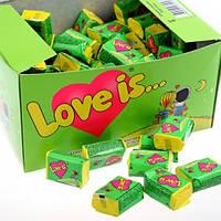 Жвачка Love is ... Яблоко-Лимон 50 шт