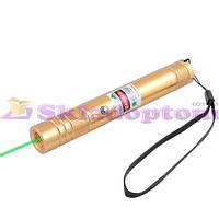 Фонарь-лазер зеленый LM-206, встроенный аккумулятор, ЗУ micro USB, комплект**