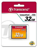 TS32GCF133 Карта памяти Transcend 32GB CF 133X, TS32GCF133