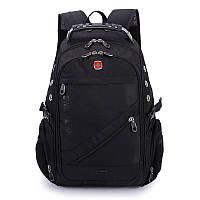 Рюкзак городской, офисный для ноутбука  SWISSGEAR № 9 - 30л +Rain cover