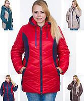 Женская зимняя куртка больших размеров, 58-64