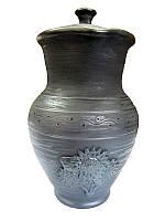 Молочник Подсолнух Гаварецкая керамика (Гаварецкая глиняная посуда)