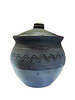 Сахарница Глянец Гаварецкая керамика (Гаварецкая глиняная посуда)