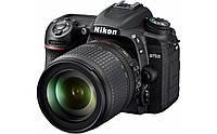 VBA510K001 Цифр. фотокамера зеркальная Nikon D7500 KIT AF-S DX 18-105 VR, VBA510K001