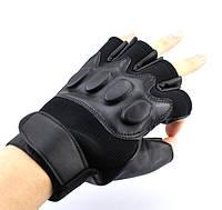 Легкие беспалые тактические перчатки дышащие, фото 1