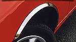 Daewoo Matiz 1998-2008 гг. Накладки на арки (4 шт, нерж)