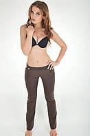 Трикотажные пляжные брюки Ora 200125/3 42(S) Коричневый Ora 200125/3