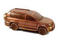 Шоколадный авто эллит клаcса. TOYOTA Land Cruiser Prado, фото 1