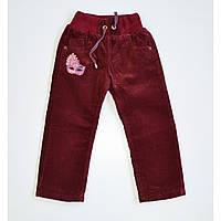 Утепленные брюки для девочки 140038.13