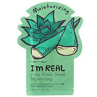 TONY MOLY I'm Real Aloe Mask Sheet — Маска для лица с экстрактом алоэ