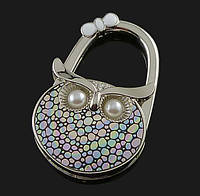 Вешалка держатель для женской сумочки Сова