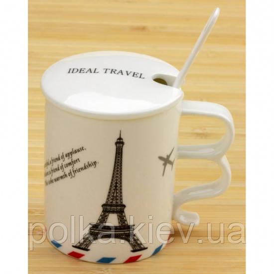 Чашка Ideal travel Bonjour Paris