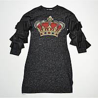 Платье для девочки с апликацией 5700.03
