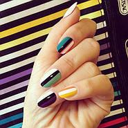 Яркие покрытия для ногтей.