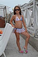 Детский раздельный купальник Della Marcelina 116 (5) Синий