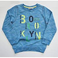 Реглан для мальчика синий ткань двунитка 2351-017.02