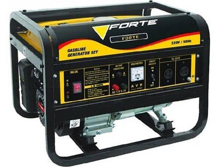 Бензиновый генератор FORTE FG2500, фото 2