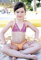 Детский купальник со стразами Vacanze Italiane VD 3318 110 Оранжевый Vacanze Italiane VD 3318