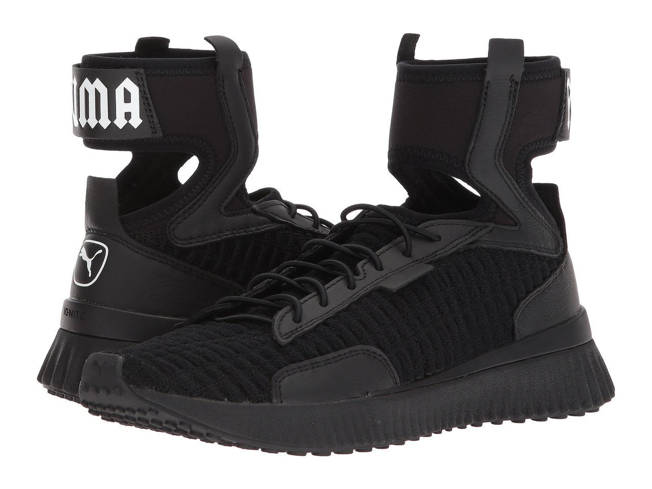 Кроссовки Кеды (Оригинал) PUMA Fenty Trainer Mid Puma Black Puma White - e8ad117e97c