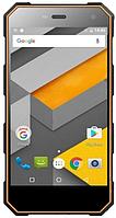 "Sigma mobile X-treame PQ24 black-orange IP68, 1/8 Gb, 5"", MT6580, 3G, фото 1"