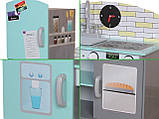 Деревянная кухня для детей Blue.Детская кухня  ECOTOYS , фото 4