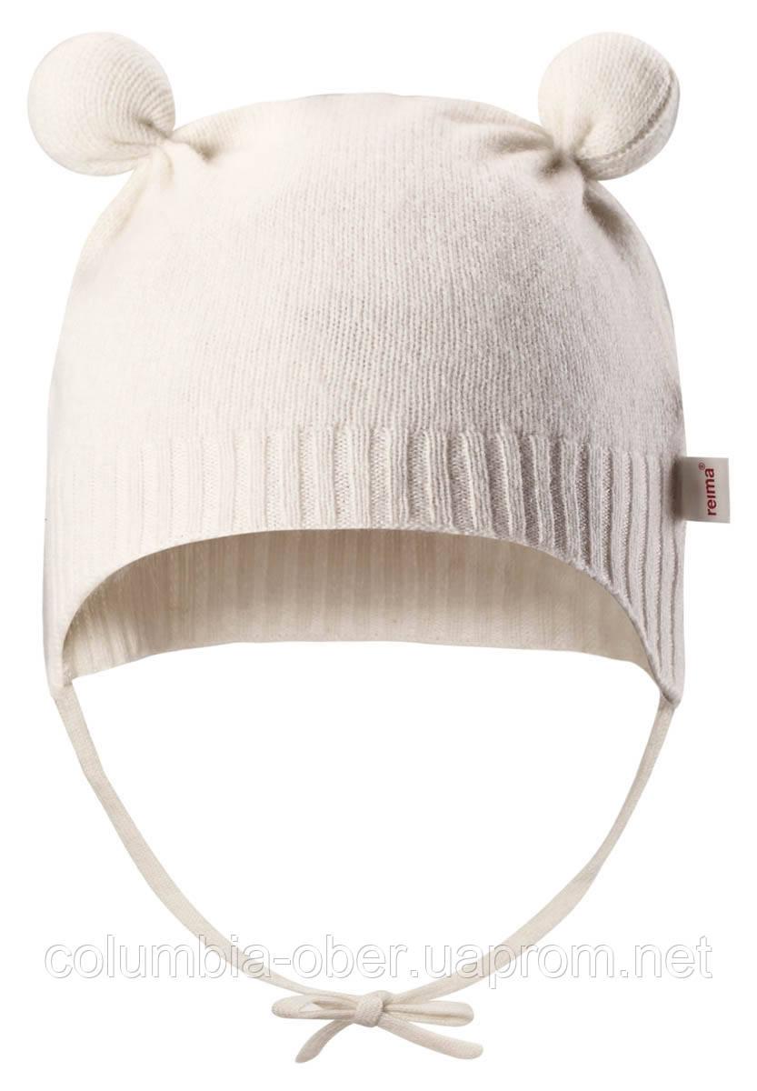 Демисезонная шапка для девочки Reima Hilal 518416-0110. Размер 34-44.