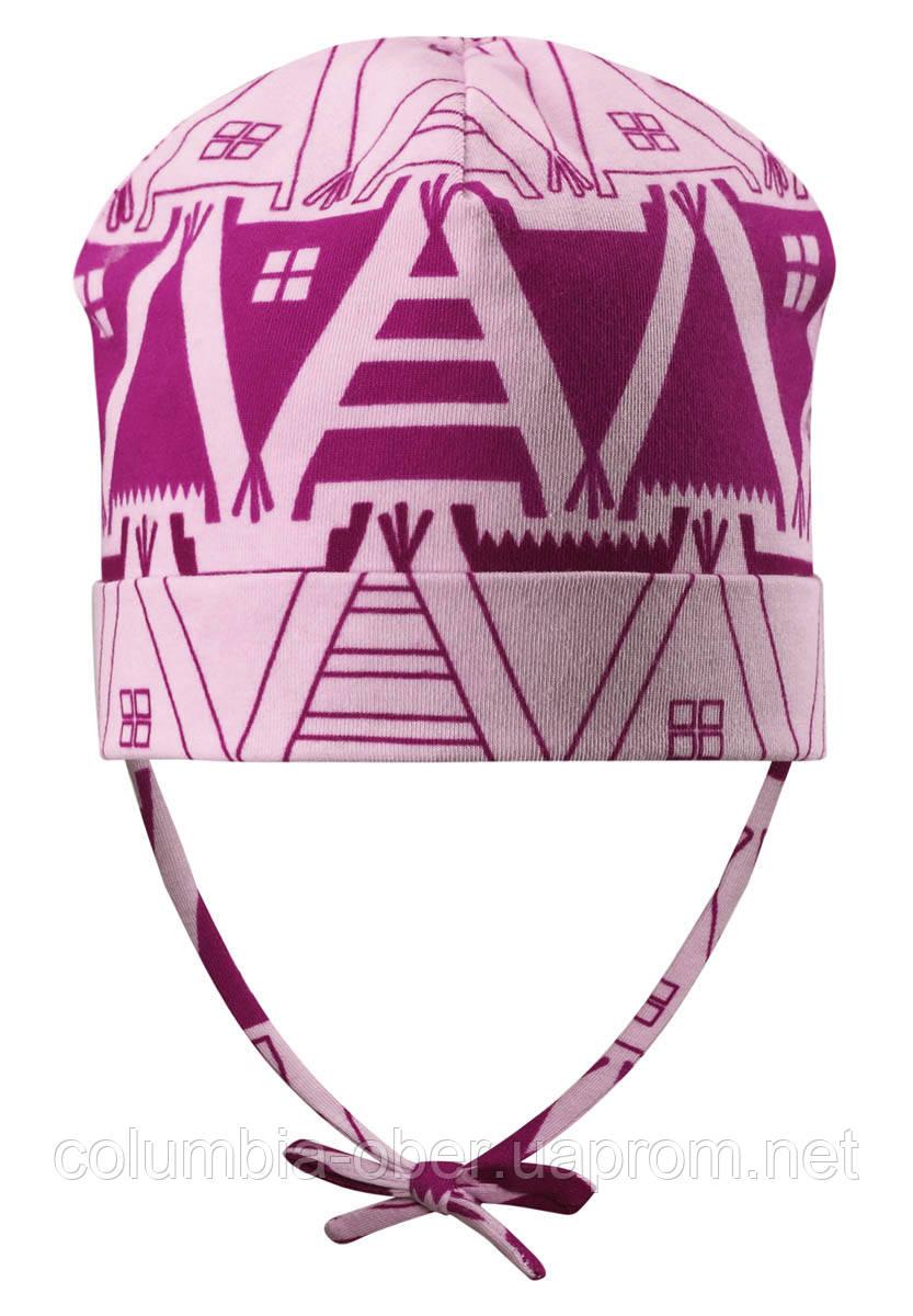 Демисезонная шапка для девочек Reima Vasa 518420-4013. Размер 46-52.