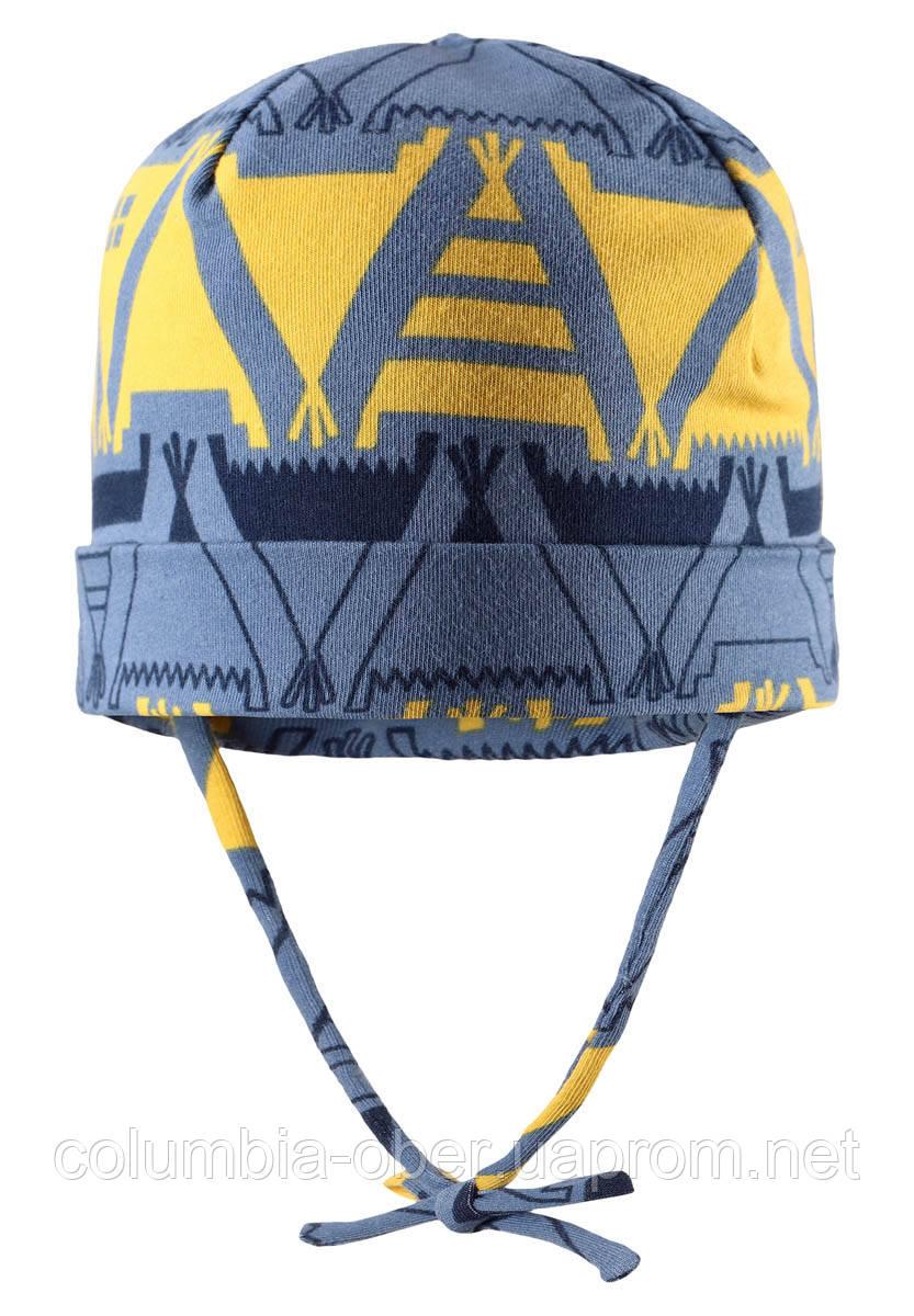 Демисезонная шапка для мальчика Reima Vasa 518420-6742. Размер 46 и 48.