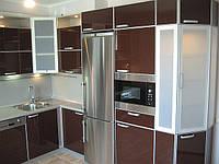 кухня стекло фото 5
