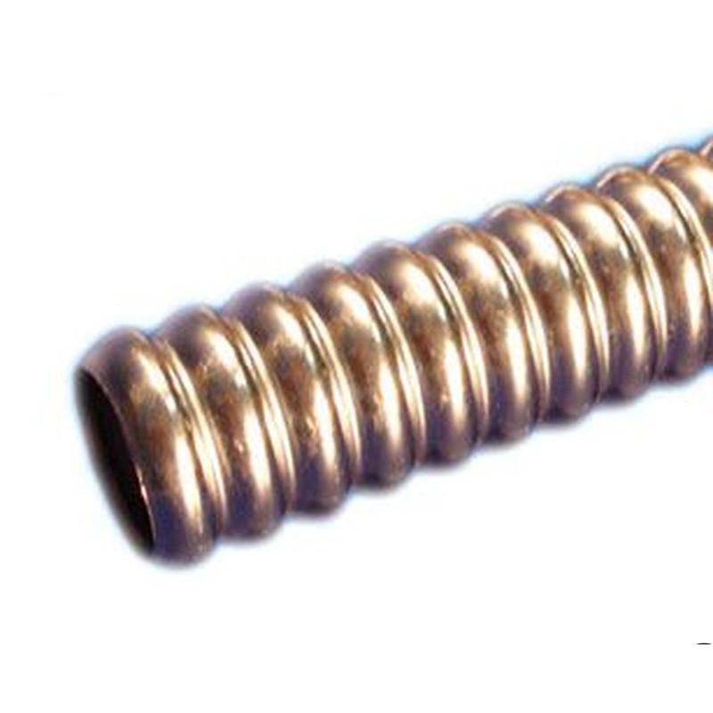 Труба GofraFlex гофрированная нержавеющая под фитинги 25М отожженная мягкая