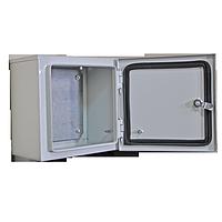Электротехнический корпус герметичный навесной ЭТКНо 400х300х150 0,8мм