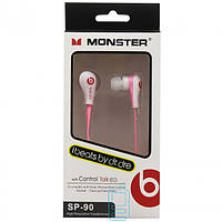 Наушники Monster Beats SP-90 розовые