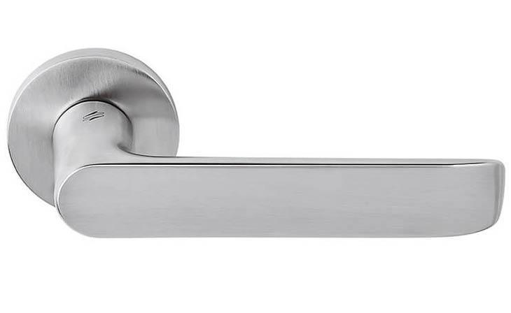 Ручка дверная COLOMBO LUND SE 11 матовый хром